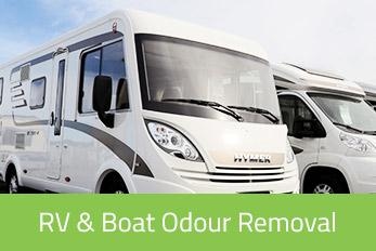 Boat & RV Odour Removal