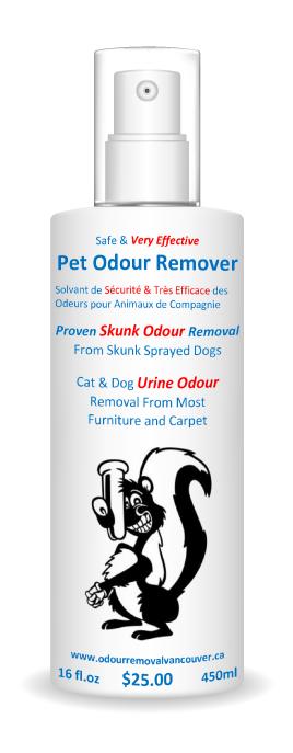 Skunk Odour Removal